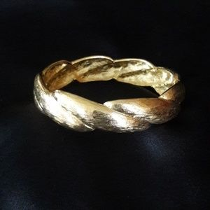 Vintage Givenchy Gold Bangle/Bracelet